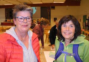 Lena Holmdahl, till vänster, och Marie Sellert-Rydberg vill inte se mer trafik. De anser att gränsen redan är passerad för vad området klarar av i form av trafikintensitet.
