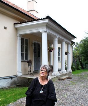 – Jag brukar säga att jag bor i Himmelriket, bredvid Tidö slott. Någon annan adress behövs inte, säger Marie Hektor.