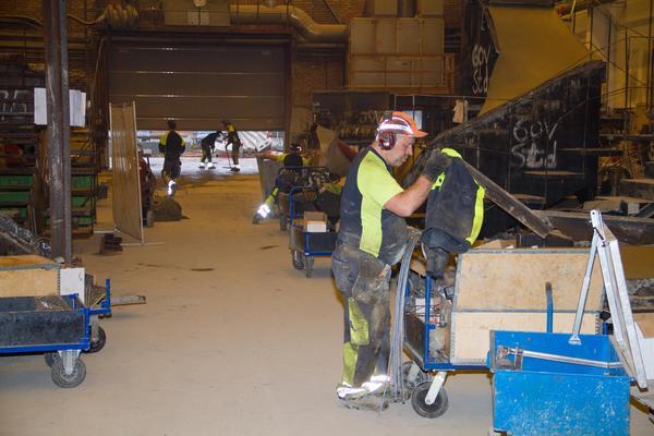 I dag arbetar 48 personer på Norbergstrappan.