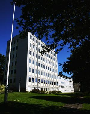 Gruvkontoret i GrängesbergFoto: Gustav Mårtensson/Arkiv