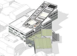 Våning 5. Den första våningen på den så kallade