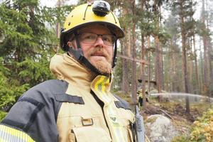 Räddningsledare Bengt-Olof Johansson