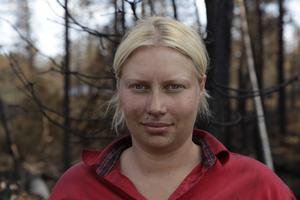 Kim Rudebeck är mark- och skogsbrandman och arbetar för SITS insatsteam på uppdrag av Fortum och Holmen Skog.
