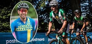 Emil Lindgren och Emil Lindgren. Foto: Svenska cykelförbundet och Stefan Ericson