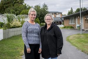 Linnea Jolinger berättar att det var jobbigt att se hennes barn frysa och Christine Nordström är besviken över HSB:s förklaring.