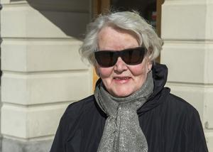 Inga Östlund, pensionär, 75+, Sundsvall