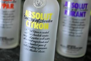 Vodkan ratades helt vid inbrottet.