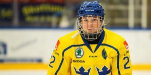 Lina Ljungblom var inblandad i Sveriges båda mål mot Schweiz. Bild: Tobias Sterner/Bildbyrån