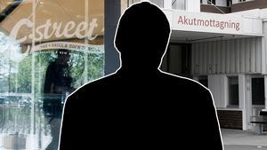 Mannen som är i 30-årsåldern är misstänkt för anlagda bränder – på en kväll. Bilden är ett montage.