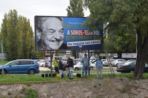 Den ungerska regeringens kampanj mot George Soros har bland annat tagit sig uttryck i en massiv affischering där det spridits konspirationsterorier kring migration.