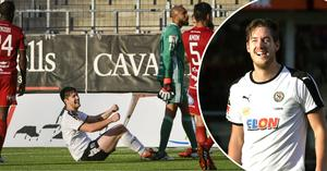 Victor Skölds kontrakt med ÖSK går ut efter säsongen. De senaste matcherna i allsvenskan har han gjort mål både mot Kalmar FF och Östersunds FK.