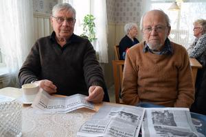 Tack vare att de hoppade av tåget överlevde Alf Bergkvist och Jean Granberg.