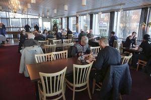 Cityrestaurangen är oftast full med lunchgäster.