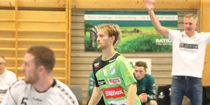 På grund av en fotskada var Endrit Abdullahi länge osäker på spel mot Helsingborg. Men i den andra halvleken byttes han in.