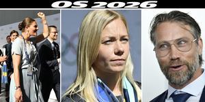 Några av Sveriges kändisar på plats i Lausanne. Bild:  Stina Stjernkvist/TT