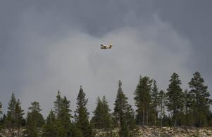 Skogsbrand i Särna, Älvdalens kommun, sommaren 2018. Foto: Nisse Schmidt/arkiv