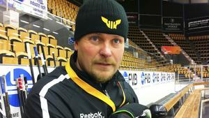 VIK-tränaren Joakim Fagervall.