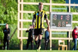 Rasmus Bergström som kommer tillbaka till höst.
