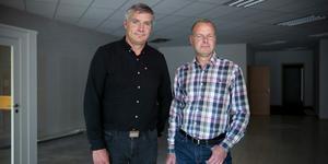 Kommunalråd Lars Isacsson (S) och Johan Thomasson (M).