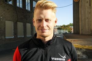 Dagen efter premiären var Hampus Nordberg hemma i Söderhamn igen.