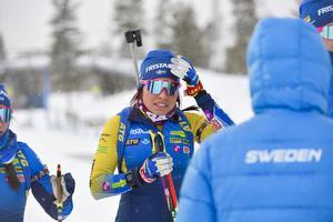 Elisabeth Högberg får inte köra distanstävlingen på VM.