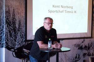 Kent Norberg var på plats och berättade om sin syn på säsongen som varit och det som komma skall.