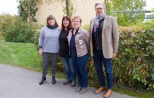 Catalina Kiss och Sara Strandberg avslutar sitt engagemang i stödgruppen vid månadsskiftet. Marita Wikström möter kommunledningen till veckan. Kyrkoherde Jan Bonander ser inget slutdatum för pastoratets engagemang.