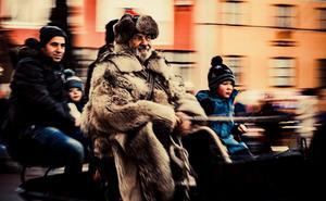 Att få till en gammaldags känsla är en viktig del av julmarknaden.Foto: Kjell Pettersson