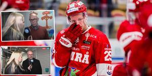 Morten Madsen deppar efter förlusten. Foto: Pär Olert/Bildbyrån