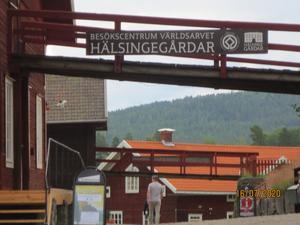 Besökscentrum på Stenegård.