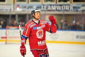 Jörgen Karterud gjorde mål direkt i återkomsten efter skada. Bild: Daniel Nestor/Bildbyrån