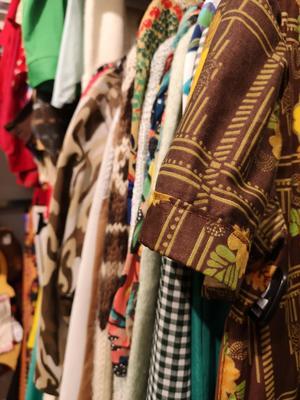 Vintagekläder är både unika och ofta välgjorda.