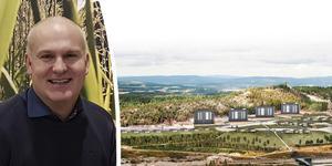 Odd Johansson är mark- och planeringschef på Örnsköldsviks kommun. Bilder: Robbin Norgren och Örnsköldsviks kommun