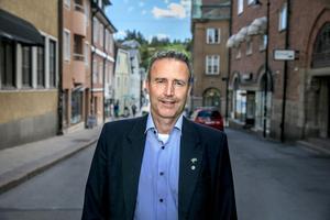 Mikael Strandman, gruppledare för Sverigedemokraterna.