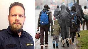 Många migranter som ska avvisas gömmer sig för polisen.