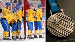 Det svenska bandylandslaget i OS? Nej, det dröjer innan vi får se det. Bild: TT.