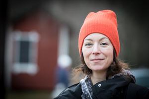Hallstahammars nya kulturutvecklare Åsa Lundqvist var nöjd med julmarknaden som lockade flera tusen personer. Foto: Lennye Osbeck