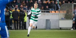 Simon Johansson var åter bäst i det grönvita laget.