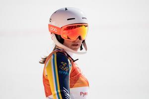 Estelle Alphand skickas hem från OS. Foto: Joel Marklund (Bildbyrån)