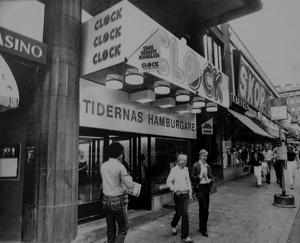 Clock lockade med tidernas hamburgare i Stockholm och övriga landet mellan 1970- och 1990-talet.