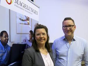 Lågaffektivt bemötande tillhör vardagen för Camilla Rekke på Magelungen i Gävle. Petter Marklund delar gärna med sig av sina erfarenheter.