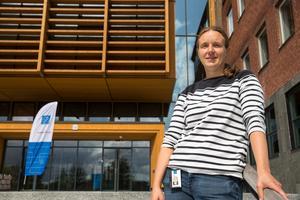 """Sandra Tibbelin är programansvarig för det nya programmet """"Ämneslärarutbildning med inriktning mot teknik""""."""