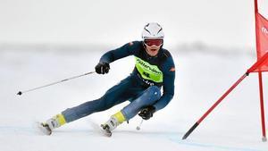 Johan Hagberg är en av två från Dalarna som kommer åka JVM i Davos. Bild: Nisse Schmidt.