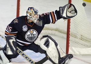 Tommy Salo hade sina bästa år i Edmonton Oilers.