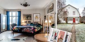 Villan har legat ut till försäljning sedan förra måndagen. Foto: Carlsson Ring