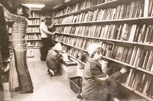 Bokbussen 1978. Foto: VLT:s arkiv