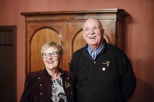 Sekreteraren Inger Grundroth och ordförande Pelle Elfving.