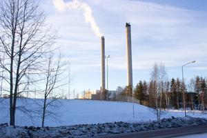 Kraftvärmeverket i Björksätra.
