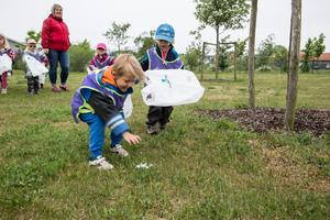 Många av deltagarna är barn och unga. Foto: Jenny Brandt