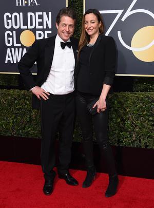 Bild: TT. Paret på Golden globe awards i söndags.